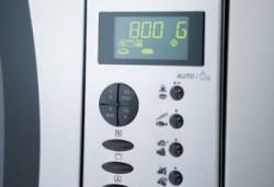 Кнопочное управление микроволновой печью