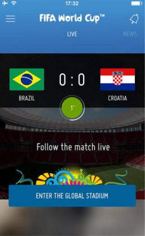Приложение FIFA