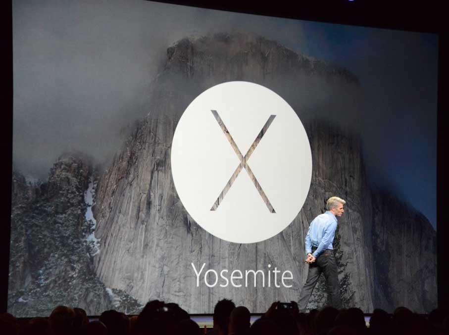 Тим Кук и OS X 10.10