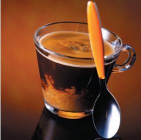 Кофе со сливками и ликером