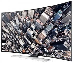 Телевизор с изогнутым дисплеем Samsung UE-65HU9000T