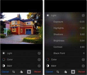 """Множество настроек в """"Фотографиях"""" для iOS 8"""