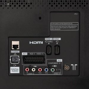 Разъемы Panasonic Viera TX-42ASR750