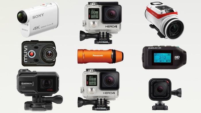 Экшн-камеры с разрешением 4K. ТОП-13 популярных моделей