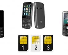ТОП 5 телефонов с тремя SIM-картами 2017