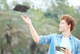 Обзор дронов Moment Selfie Drone и Fairy Drone от Simtoo. Что умеют новинки?