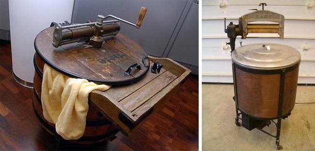 А что вы знаете об истории стиральных машин?