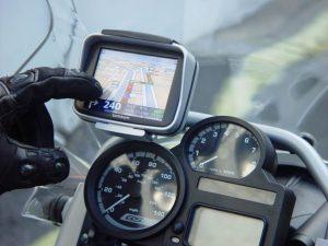 Навигатор в мотоцикле