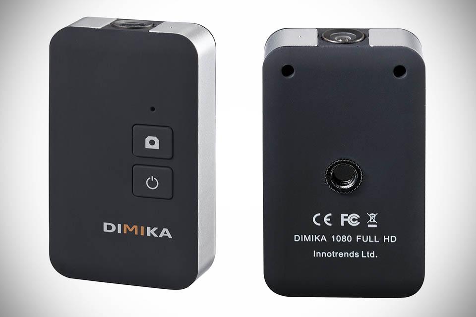 Dimika. Вид спереди и сзади (виден разъем для штатива)