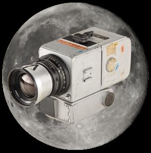 Камера Hasselblad 500 EL , которая побывала на Луне