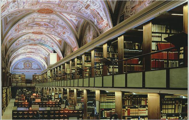 Ватикан. Библиотека.
