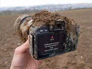 Чистка фотоаппарата от пыли