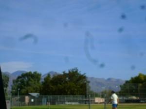 Пятна пыли на фотографии