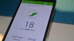 Samsung Galaxy S5 S health