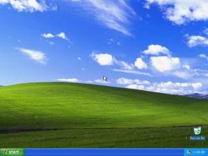 Рабочий стол Windows XP, по которому мы будем скучать