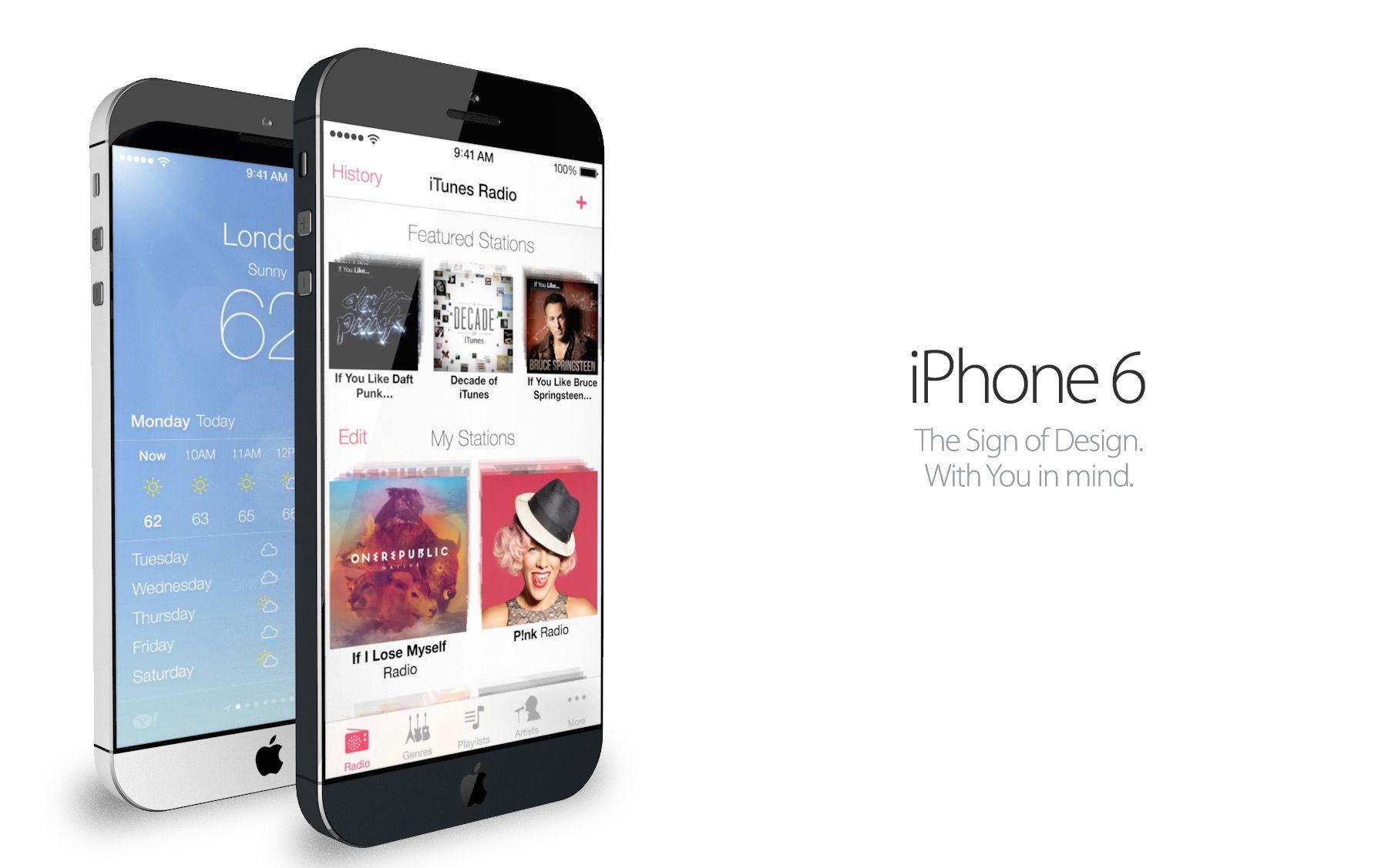iPhone 6 и iOS 8.0: какими они будут?