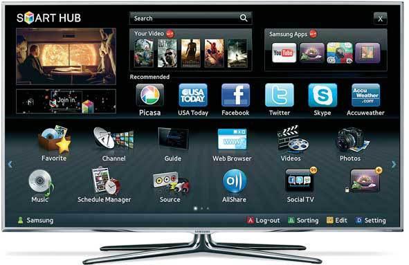 Smart HUB от Samsung