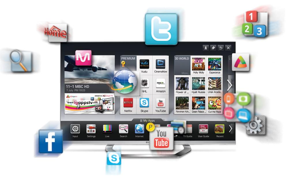 """Телевизоры Smart TV. Как выбрать """"умный"""" телевизор"""