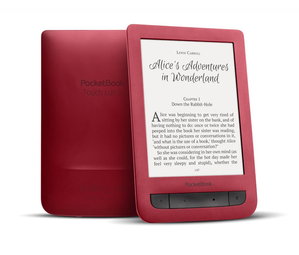 PocketBook 626 Touch Lux 3 Ruby Red