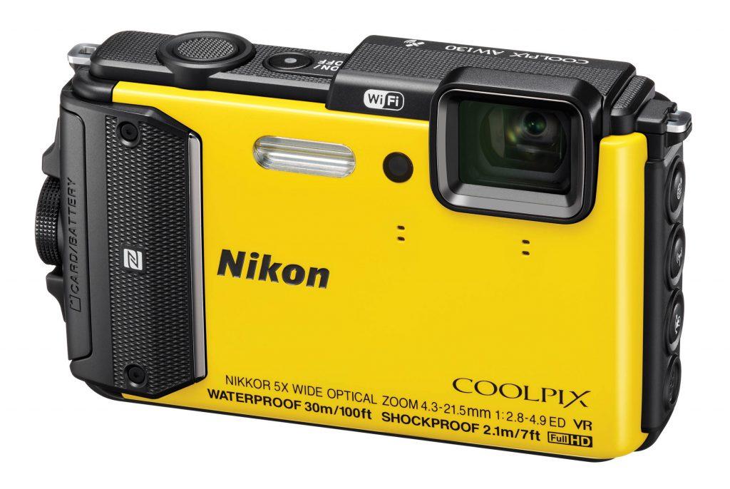 подводный фотоаппарат Nikon Coolpix AW130