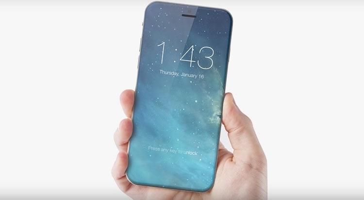 e5ccb6c43c7dd Предполагается, что новый яблочный смартфон полностью избавится от рамок,  чего ожидали уже от модели этого года. Получается, вся передняя панель  будет ...