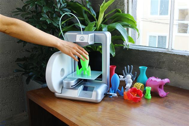 принцип работы 3d принтера