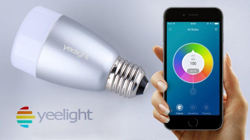 умная лампочка от Xiaomi
