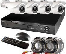 Как организовать систему видеонаблюдения частного дома?